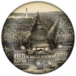 PW2606 - View of Washington D.C. Antique Map Paperweight