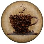 PW2733-Coffee Lover Monogrammed Paperweight