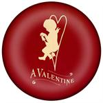 PW2960 - A Valentine Red Paperweight