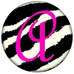 PW433-Zebra Personalized Paperweight