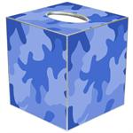 TB1144 - Blue Camouflage Tissue Box Cover