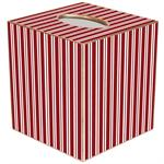 TB1179 - Red Stripe Tissue Box Cover