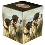 TB134 - Pointers Tissue Box Cover