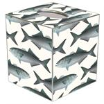 TB1521-Bluefish Tissue Box Cover