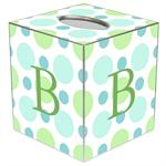 TB1562 - Blue Bubble Gum Tissue Box Cover