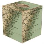 TB1836 - Georgia Coast Map Tissue Box Cover