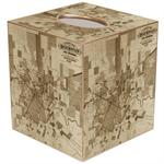 TB2434 - City of Houston Antique Map Tissue Box Cover