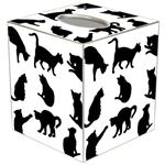 TB2444 - Cat Silhouette Tissue Box Cover