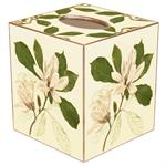 TB367-Magnolias Tissue Box Cover