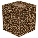 TB374-Leopard Tissue Box Cover