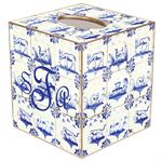 TB500-Animal Tiles Tissue Box Cover