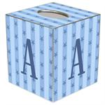 TB526-Blue Stars & Stripes Tissue Box Cover