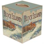 TB532- Block Island Southeast Lighthouse Tissue Box Cover