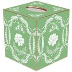 TB534 - Apple Green Provencial Tissue Box Cover