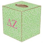 TB940-Delta Zeta Tissue Box Cover