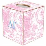 TB947 - Delta Gamma Tissue Box Cover
