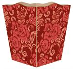 WB1234-Red Hawaiian Wastepaper Basket
