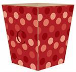 WB1569 - Giant Red Dots Wastepaper Basket