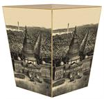 WB2606-View of Washington D.C. Antique Map Wastepaper Basket