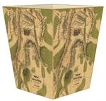 WB2651-The Battle of Gettysburg Antique Map Wastepaper Basket