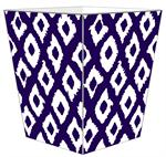 WB2847 - Grande Ikat Purple Wastepaper Basket