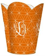 WB2518 - Daisy Dot Orange Tissue Box Cover