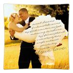 Wedding Invitation Decoupage Plate 51
