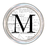 C1214-Algebra Personalized Coaster