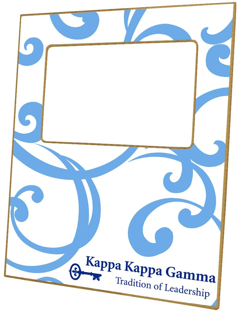 F2179 Kappa Kappa Gamma Sorority Picture Frame