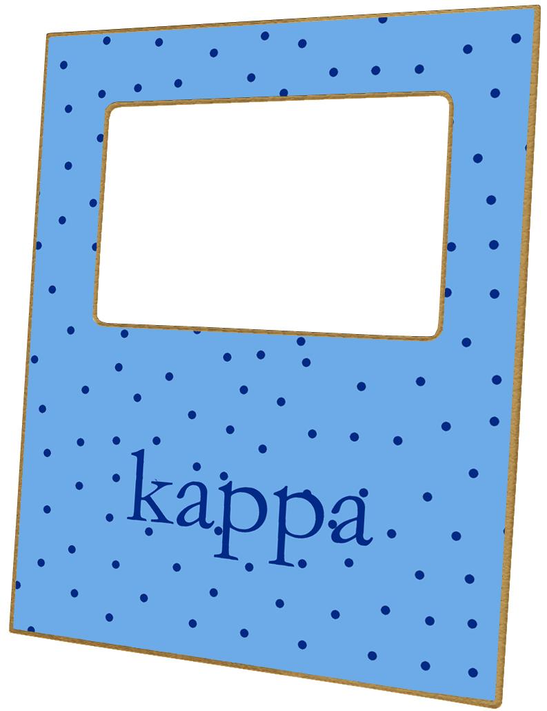 F2181 Kappa Kappa Gamma Sorority Picture Frame