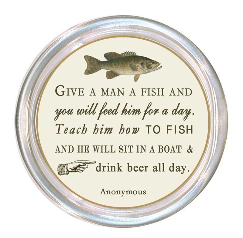 you can teach a man to fish