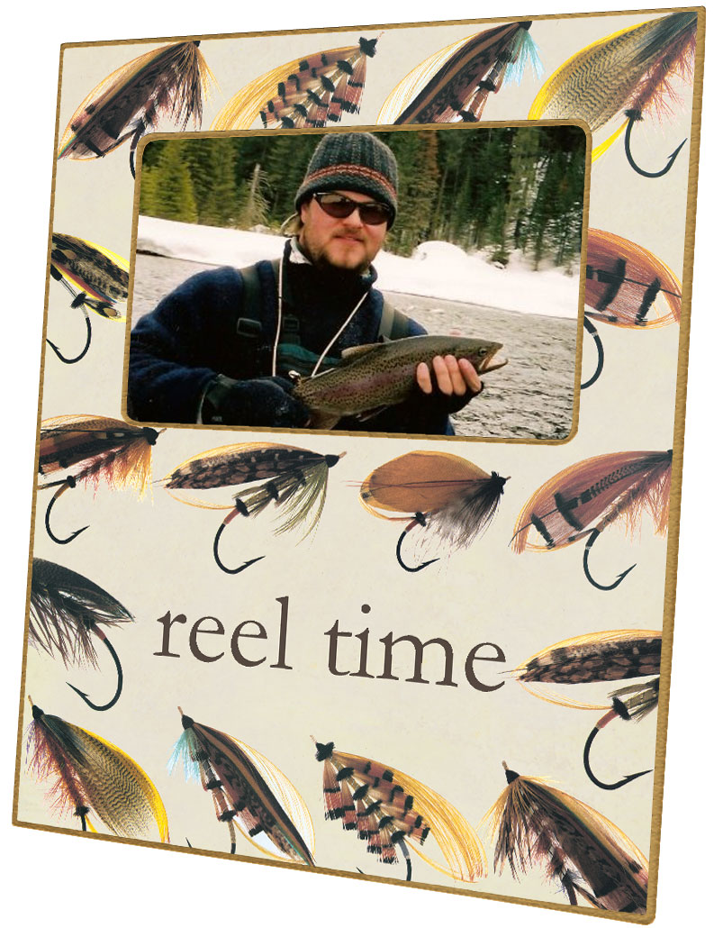 F1879 - Fly Fishing Picture Frame