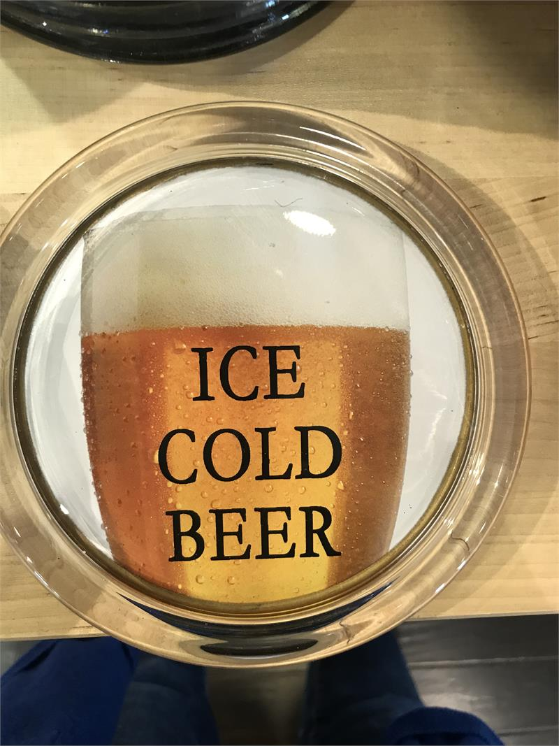 Coaster Ice Cold Beer