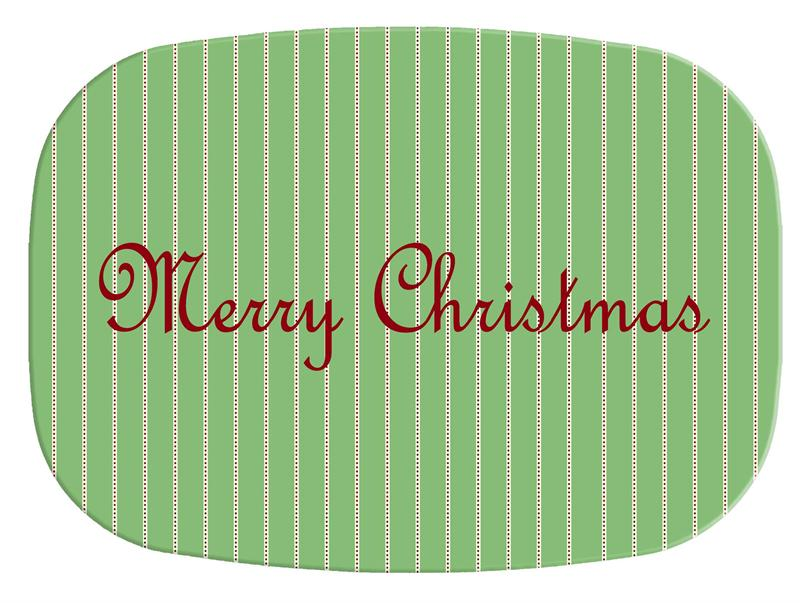 Melamine Christmas Platters.M2407 Avery Christmas Melamine Plate Platter