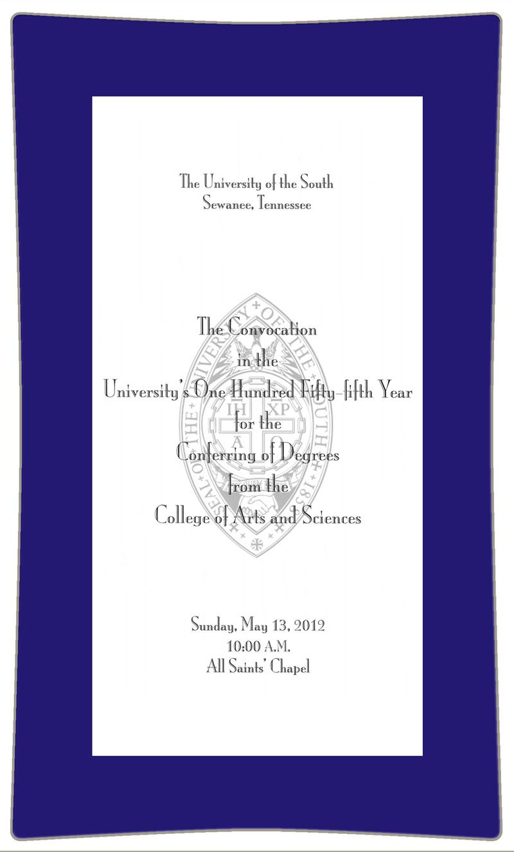 Graduation Invitation Decoupage Plate Sample 125