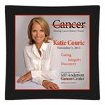 Katie Couric Making Cancer History Award Decoupage Plate Recognition Gift- 1