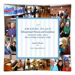 Amazing Place Decoupage Plate Recogntion Award Gift
