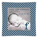 Birth Announcement Decoupage Plate Sample 014