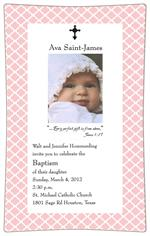 Birth Announcement Decoupage Plate Sample 003