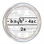 C1390-Quadratic Equation Algebra Personalized Coaster