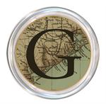 C1716- Upper Texas Coast Map  Personalized Coaster