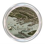 C1769 - Nantucket Town Antique Map Coaster