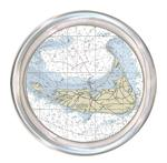 C2721-Nantucket Nautical Chart Map Coaster