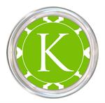 C2862 - Lime Chelsea Grande Personalized Coaster