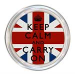 C2875 - Keep Calm And Carry On Union Jack Coaster