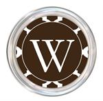C2902 - Brown Chelsea Grande Personalized Coaster