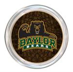 C3105-Baylor Bears with Bear on Brown Crock Coaster