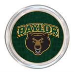 C3106-Baylor with Bear Head on Green Crock Coaster