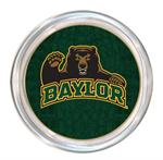 C3109- Baylor with Bear on Green Crock Coaster