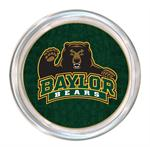 C3110-Baylor Bears with Bear on Green Crock Coaster